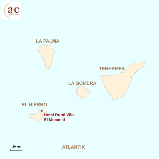 Karte El Hierro