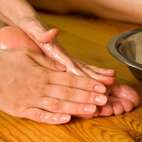 Ayurveda Öl-Fuss-Massage, Ayurveda