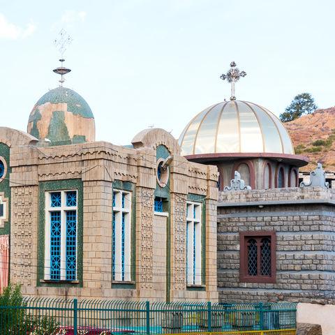Kapelle der Kirch St. Maria in Zion in Aksum, Äthiopien