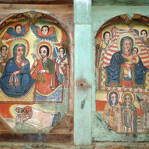 Religiöse Malereien, Äthiopien