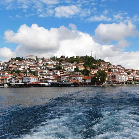 Küste in Albanien @ SKR pixabay #TITEL 1: Immer wieder schöne Aussichten... #TITEL 2: Blick auf die Küste, Albanien