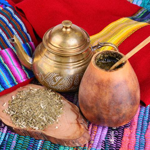 Gehört zu Argentinien wie die Luft zum Atmen: Mate Tee, Argentinien