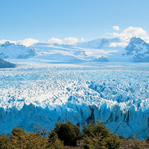 Einmal über den Perito Moreno Gletscher fliegen..., Argentinien