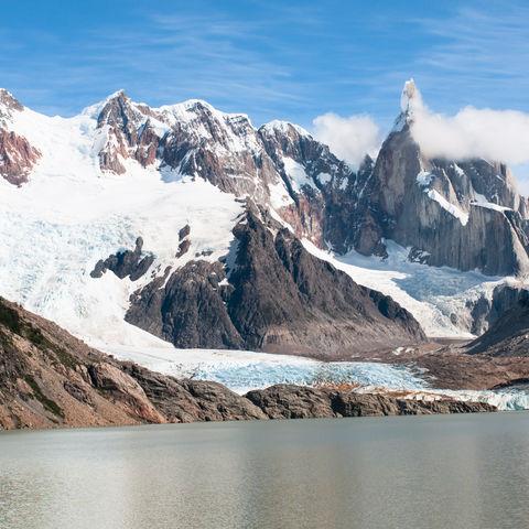 Cerro Torre im Los Glaciares Nationalpark, Argentinien
