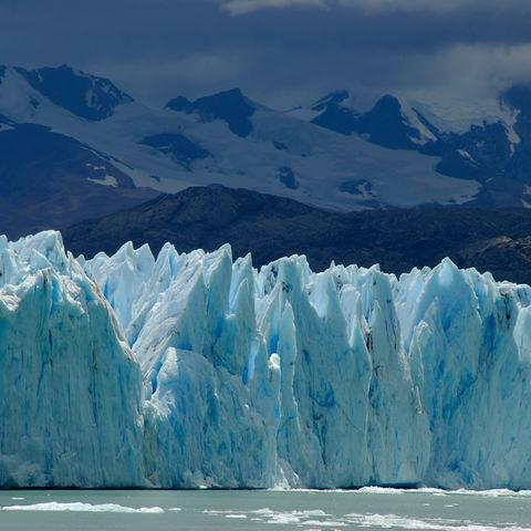 Eisblauer Perito-Moreno-Gletscher, Argentinien
