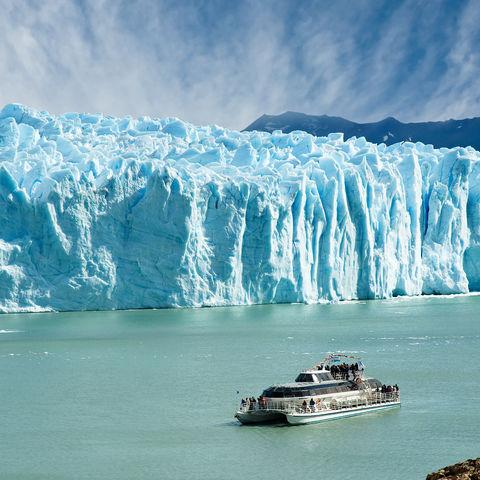 Bootstour zum Perito-Moreno-Gletscher, Argentinien