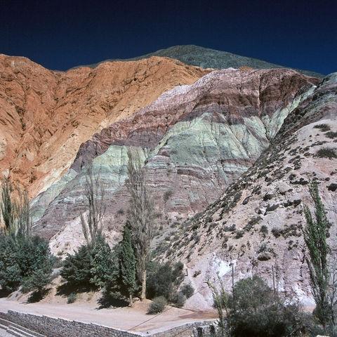 Der Berg der Sieben Farben, Argentinien