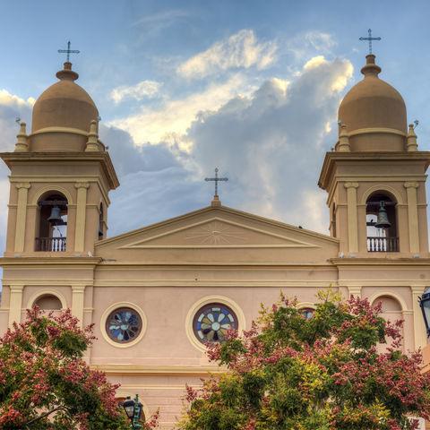 Del Rosario-Kirche in Cafayate, Salta, Argentinien