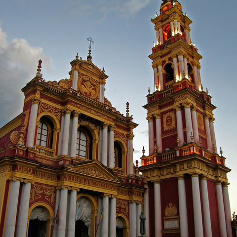 Basilika San Francisco in Salta, Argentinien