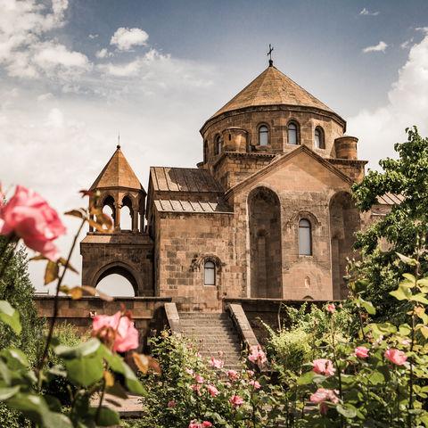 Sankt Hripsime Kirche, Etschmiadsin, Armenien