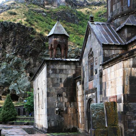 Hauptkapelle des Geghard Höhlenklosters, Armenien