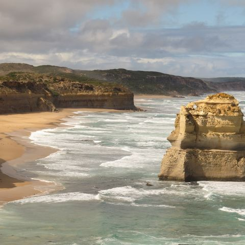 Küste des Campbell Nationalparks, Australien