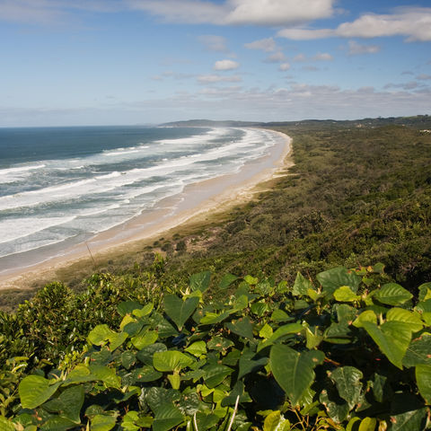 Küste Byron Bay, Australien