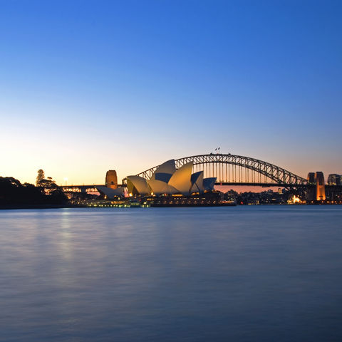 Harbour Bridge und Opernhaus in Sydney, Australien