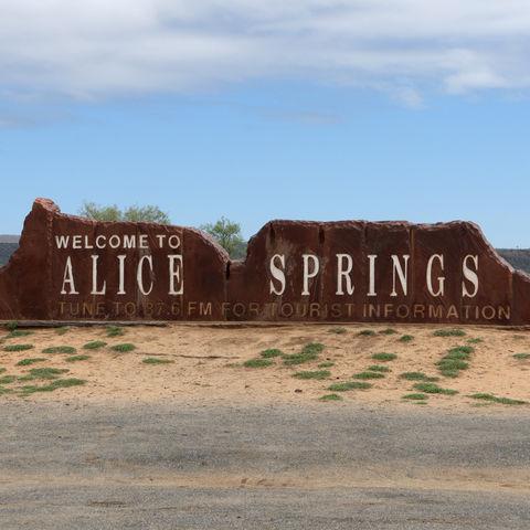 Alice Springs, Australien