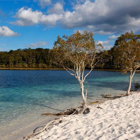 Lake McKenzie auf Fraser Island, Australien