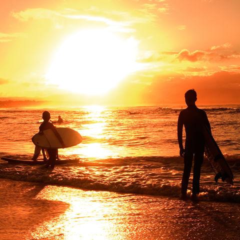 Surfer, Australien
