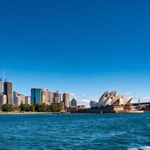 Skyline von Sydney mit dem Opera House, Australien