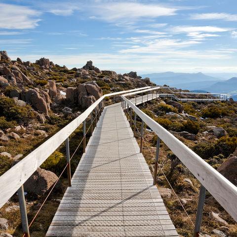 Mount Wellington in Hobart, Australien