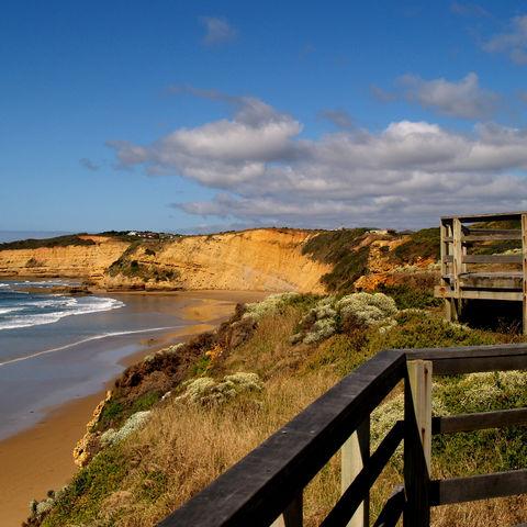 Küste an der Great Ocean Road, Australien