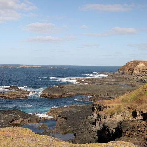 Küste auf Phillip Island, Australien