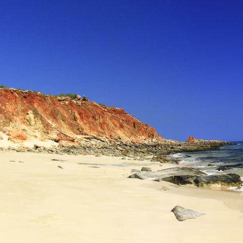 Küste von Broome, Australien