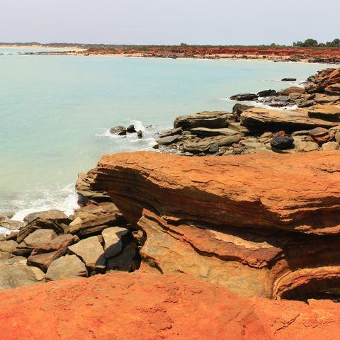 Point Gantheaume in Broome, Australien