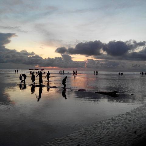 Strand von Cox's Bazar, Bangladesch