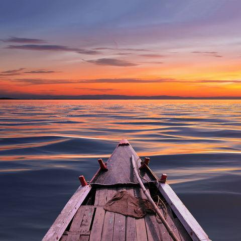 Dem Sonnenuntergang entgegen, Bangladesch
