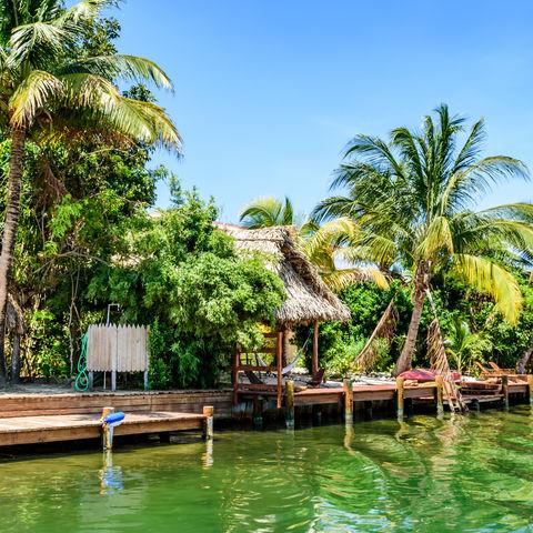 Anlegestelle in Placencia, Belize