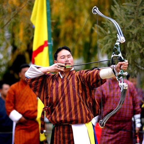 Bogenschießen ist Nationalsport, Bhutan