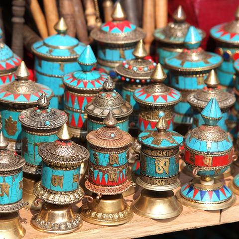 Gebetsmühlen, Bhutan