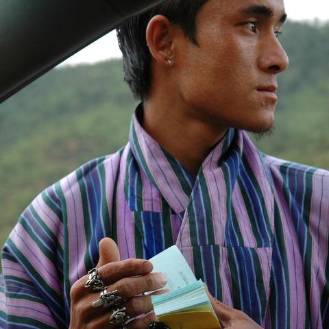 Junger Bhutanese, Bhutan