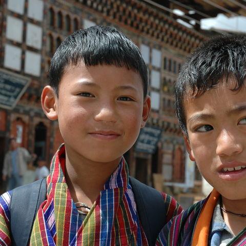 Junge Bhutanesen, Bhutan