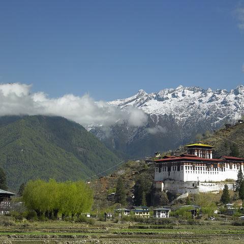 Paro Dzong Kloster, Bhutan