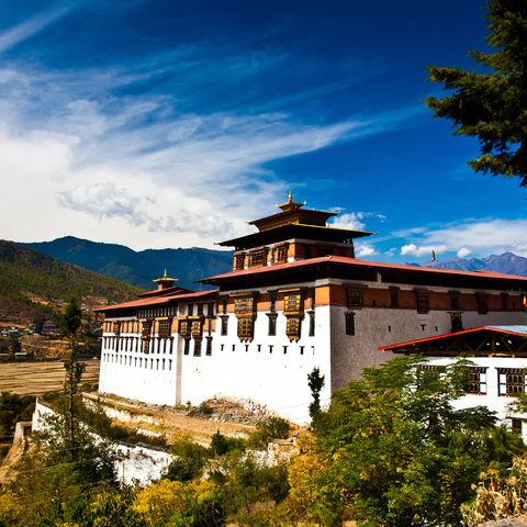 Das Zuhause Hunderter Mönche: das Rinpung Dzong in Paro, Bhutan