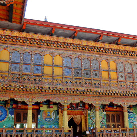 Der vielleicht schönste Dzong des Landes?, Punakha Dzong, Bhutan