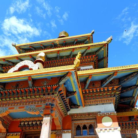Wurde für den Frieden aller Lebewesen gebaut: Khamsum Yulley Namgyal Chorten, Bhutan