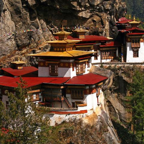 Das Tigernest Kloster, Bhutan