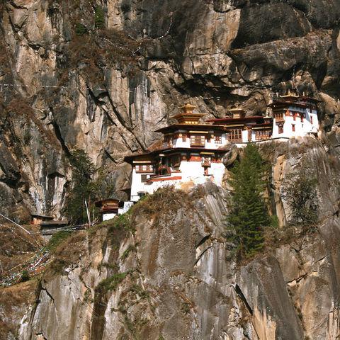 Das berühmte Tigernest-Kloster, Bhutan