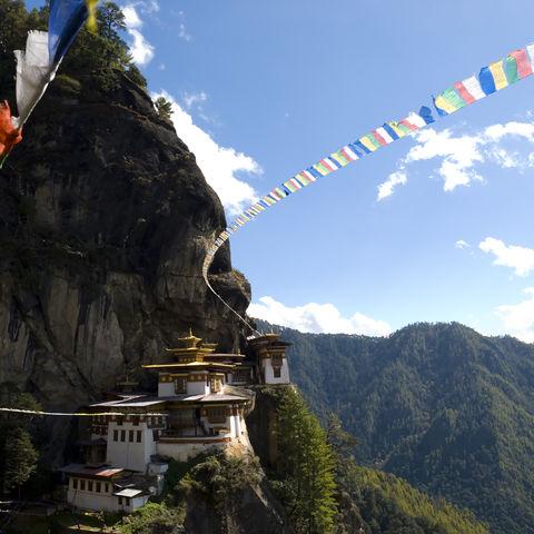 Das heilige Tigernest-Kloster, Bhutan