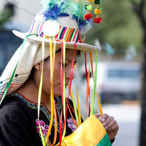 Porträt einer Bolivianerin, Bolivien