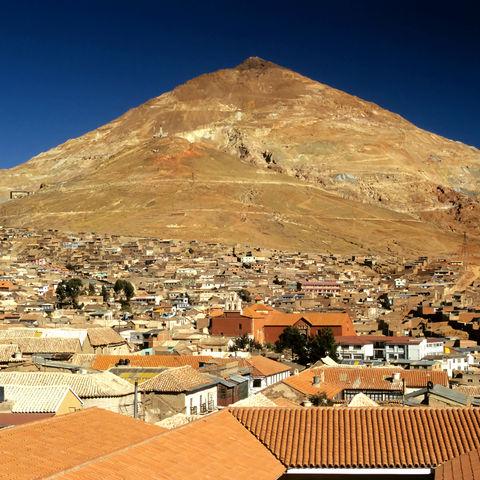 Über den Dächern von Potosí, Bolivien