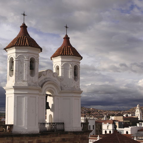 Kolonialarchitektur in Sucre, Bolivien