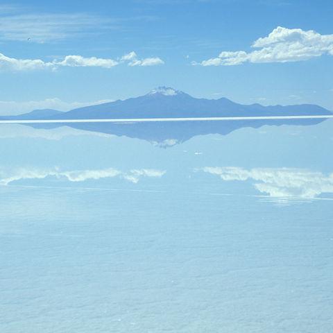 Der Salzsee von Uyuni, Bolivien