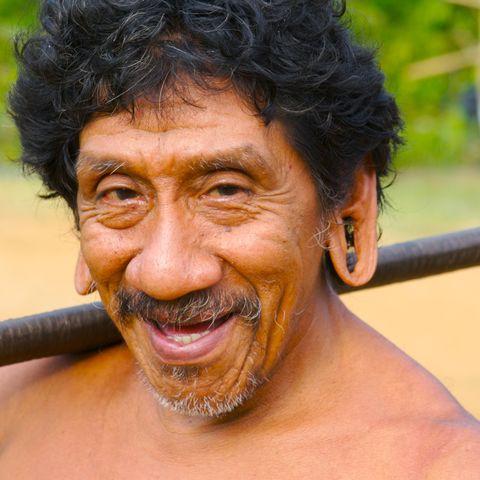 Ureinwohner am Amazonas, Brasilien
