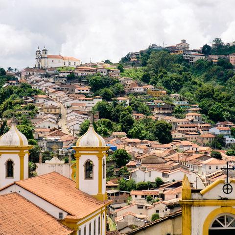 Eine der schönsten Kolonialstädte Brasiliens: Minenstadt Ouro Preto, Brasilien