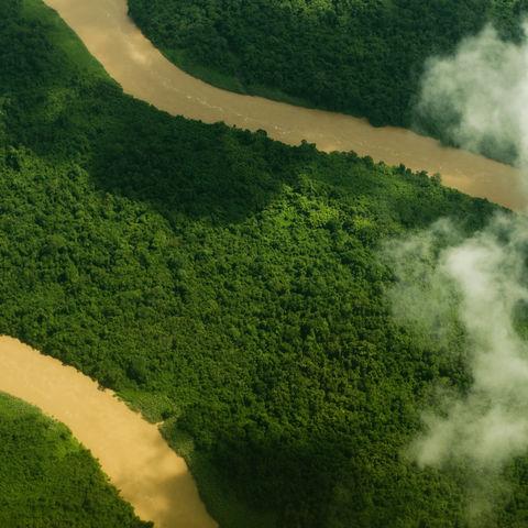 Luftaufnahme, Brunei