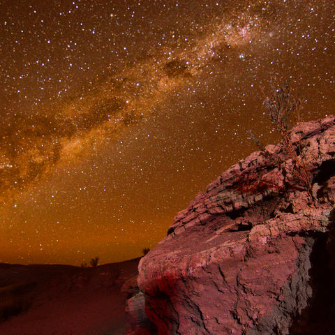 Magischer Sternenhimmel in der Atacama-Wüste © Miguel Nunez, Dreamstime.com
