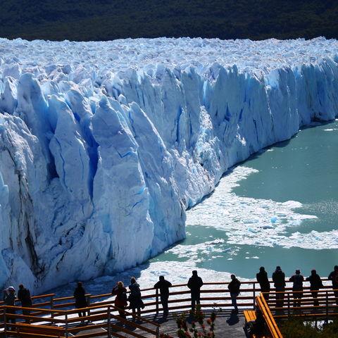 Massiver Perito Moreno Gletscher, Chile